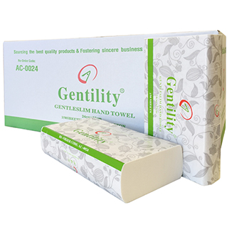 Gentility /Ultra Slim Hand Towel TAD (2,400 sheets per carton) - Bulk Wholesale
