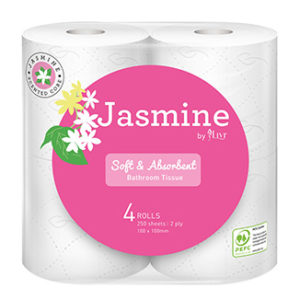 Jasmine Luxury Scented Toilet Tissues x 48 rolls per slab - Bulk Wholesale