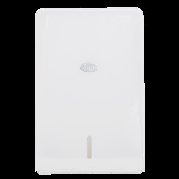 Livi Compact Interleaved Hand Towel Dispenser - Bulk Wholesale