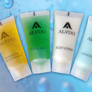 Alvdo Guest Amenities Bath Range 20mL x 400 pieces per carton - Bulk Wholesale