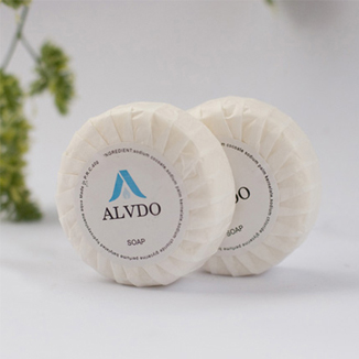 Alvdo Pleat Wrapped 15g, 20g or 40g Guest Soaps x 400 pcs - Bulk Wholesale