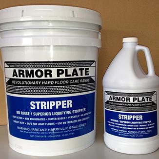 Armor Plate Non-Rinse Floor Stripper (4 Litre or 19 Litre) - Bulk Wholesale