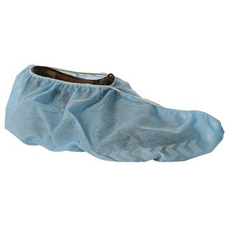 Anti-skid Blue Disposable Polypropylene Overshoes x 1000 - Bulk Wholesale