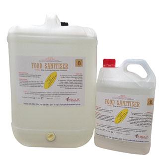 Bulk Wholesale Food Sanitiser (Rinseable) 25 Litre - Bulk Wholesale