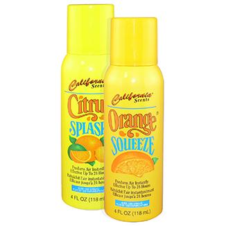 Citrus Splash and Orange Squeeze Sprays 118mL x 8 units - Bulk Wholesale
