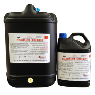 Chlorinated Detergent for Showers and Basins 25 Litre - Bulk Wholesale