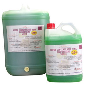 Concentrated 20+ Dishwashing Liquid 25 Litre Drum - Bulk Wholesale