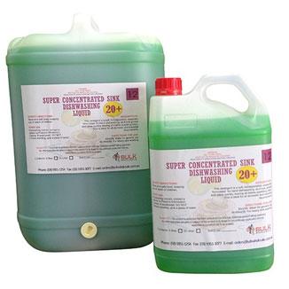 Concentrated 20+ Dishwashing Liquid 25 Litre Drum - Bulk Wholesale