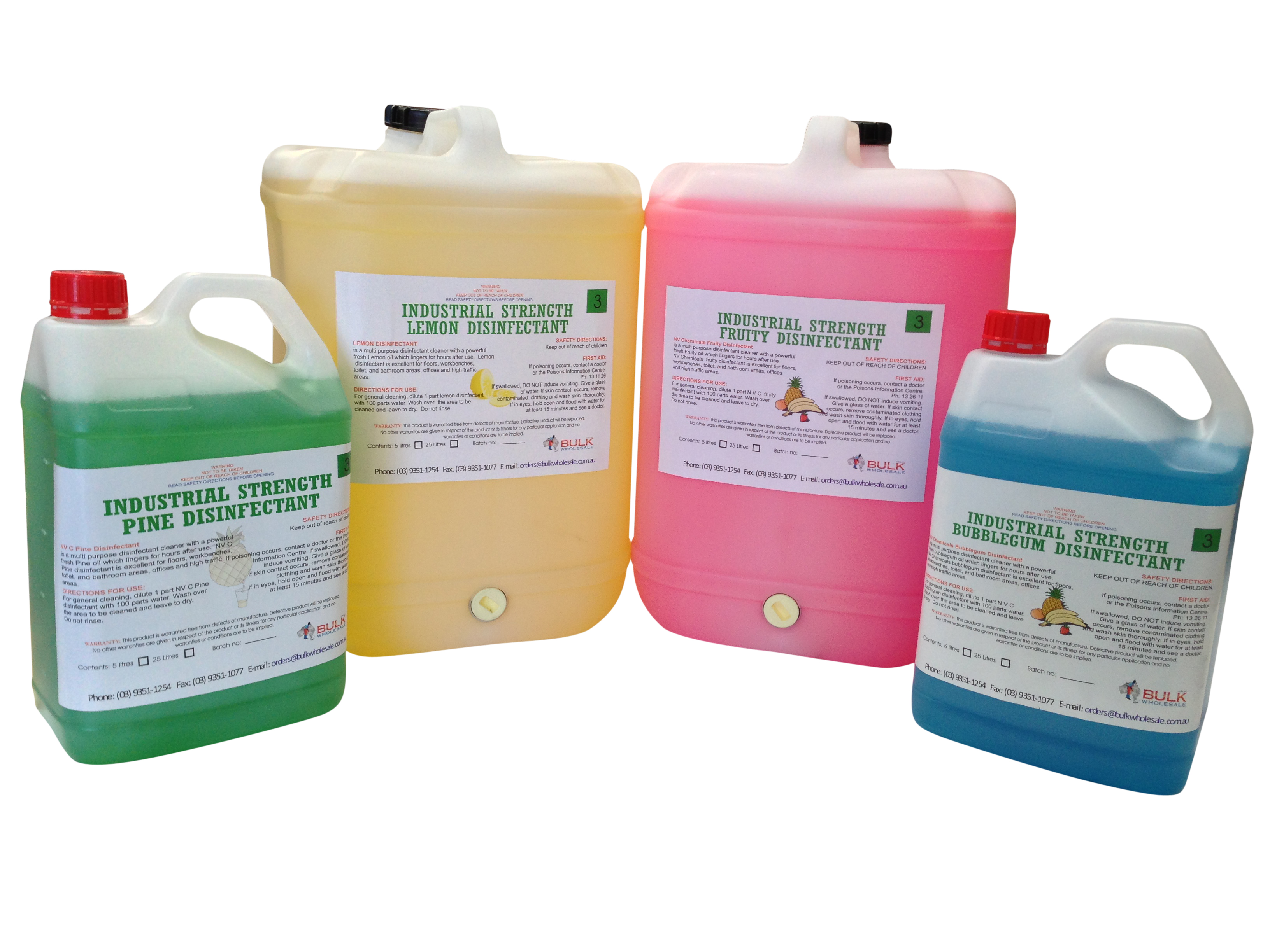Car Detailing Supplies >> Concentrated (Industrial Strength) Disinfectant 25 Litre
