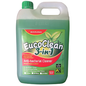 Eucoclean 3 in 1 Anti-Bacterial Cleaner 5 Litre Refill - Bulk Wholesale