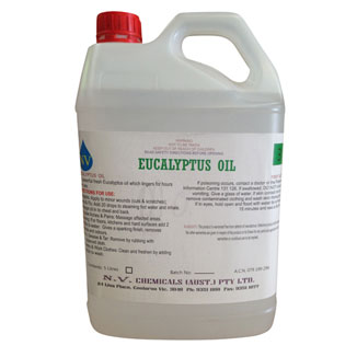 Pure Essential Eucalyptus Oil 5 Litre - Bulk Wholesale