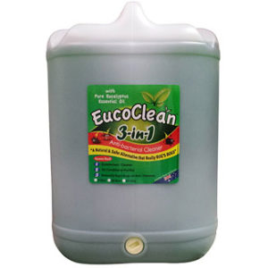 Eucoclean 3-in-1 Eucalyptus Anti-Bacterial Cleaner 20 Litre drum - Bulk Wholesale