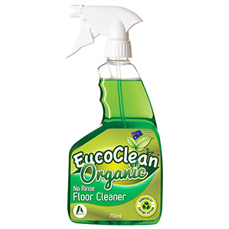 Eucoclean 'Organic' No-Rinse Floor Cleaner 750mL x 6 - Bulk Wholesale