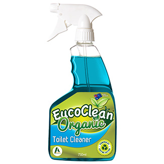 Eucoclean 'Organic' Toilet Cleaner 750mL x 6 bottles per carton - Bulk WholeSale