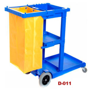 Heavy Duty Janitor Cart with vinyl bag - Bulk Wholesale
