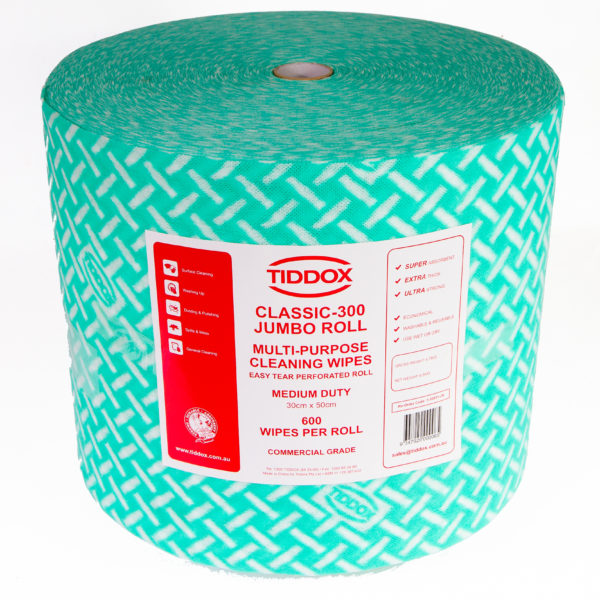 Classic Jumbo Roll – Spunlace cloth 600 Wipes - Bulk Wholesale