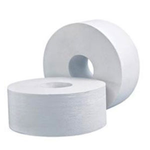 LIVI Basics 1 Ply Jumbo Toilet Roll 500m / 8 rolls per carton - Bulk Wholesale