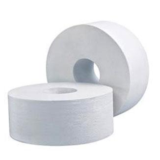 LIVI Basics 1 Ply Jumbo Toilet Roll 500m / 8 rolls per carton - Bulk Wholesale