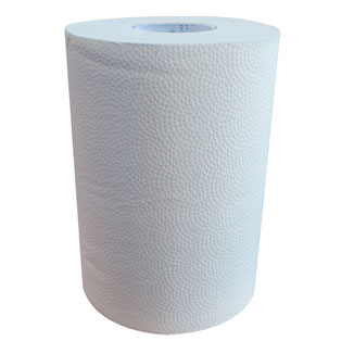 LIVI Essentials 1 Ply 80 metre Paper Roll Towels / 16 units per carton - Bulk Wholesale