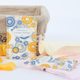 Ultraclean Guest Laundry Powder Satchets - Bulk WholeSale