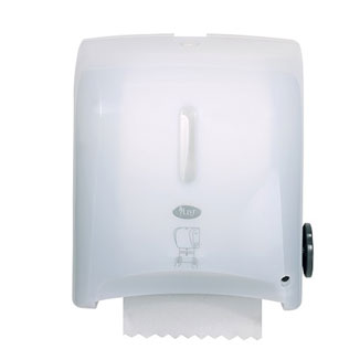 Livi MAXI Autocut 200m Hand Roll Towel Dispenser - Bulk Wholesale