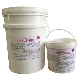 Nappy Wash Premium Pre Wash Powder 20kg Bucket