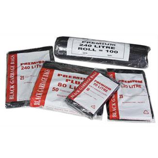 Premium Heavy Duty Bin Liners (All sizes available) - Bulk Wholesale