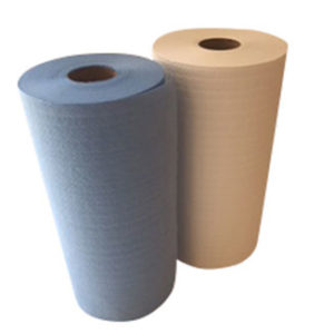 Rag on a Roll 70m 200 sheets (Blue or White) 4ply x 4 rolls - Bulk Wholesale