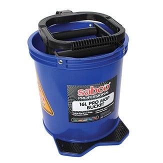 Sabco 16 Litre PRO Mop Buckets with plastic wringer - Bulk WholeSale