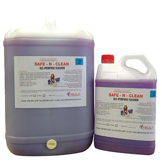 Safe 'n' Clean All Purpose Cleaner and Degreaser 25 Litre - Bulk Wholesale