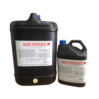 Sodium Hypochlorite 12.5% Pure Bleach 25 Litre - Bulk Wholesale