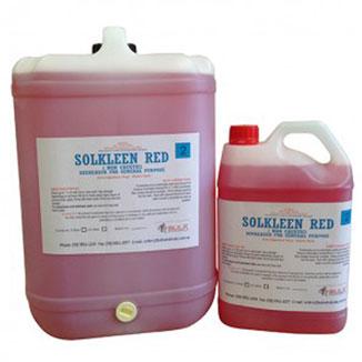 Solkleen Red Multi Purpose Degreaser – Non Caustic 25 Litre Drum - Bulk Wholesale