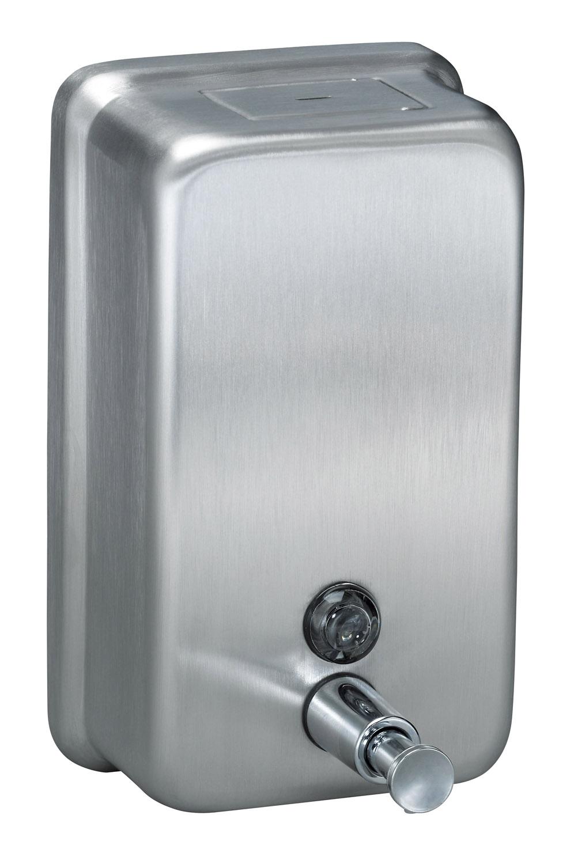 Stainless Steel Horizontal Or Vertical Soap Dispenser 1100ml