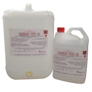 Stainless Steel Oil with Wet Look Finish 25 Litre - Bulk Wholesale