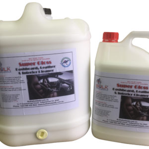 Super Gloss Interior, Dashboard and Leather Cleaner 20 Litre - Bulk Wholesale
