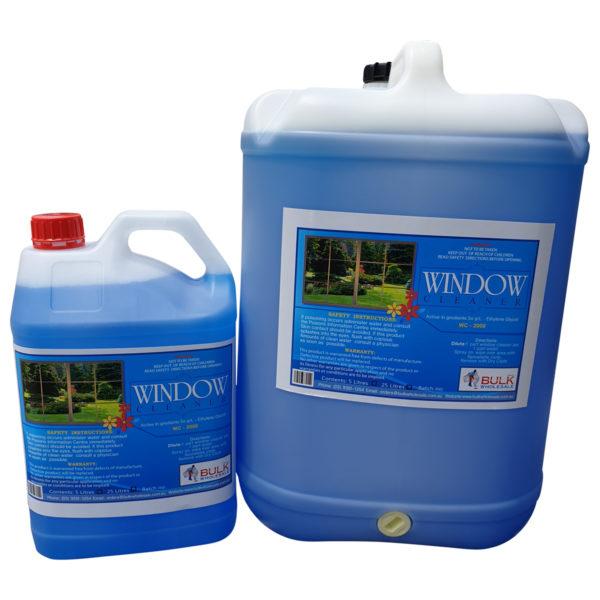 Window Cleaner 25 Litre Drum with Streak Free Solution - Bulk Wholesale