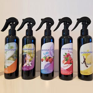 Deogroup Ambient Spray / Odour Neutraliser 300mL (Available in 7 fragrances) - Bulk WholeSale