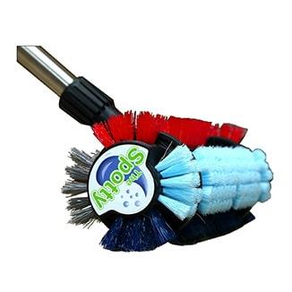 Spotty 4-in-1 Floor Brush for Carpets / Rugs / Tile & Grout - Bulk WholeSale