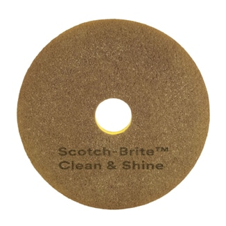 Scotch-Brite Clean & Shine Pad, 40 cm (16″), 5/case - Bulk WholeSale