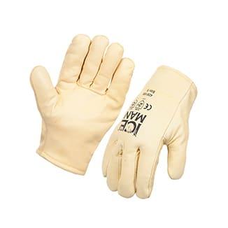 """ICEMAN"" Rigger Freezer Glove Furlined Premium Yellow Rigger x 5 pairs per pack - Bulk WholeSale"