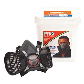 PRO Safety Gear Chemical Multi Gas Safe Breathing Kit - Bulk WholeSale