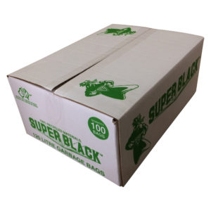 Super Black Australian Made Bin Liners 120 Litres - Bulk WholeSale