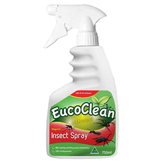 Eucoclean All Natural Organic Insect Spray 750mL x 6 bottles per carton - Bulk WholeSale