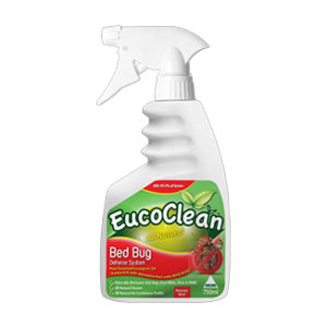 Eucoclean Bed Bug Defense System 750mL x 6 sprays per carton - Bulk WholeSale