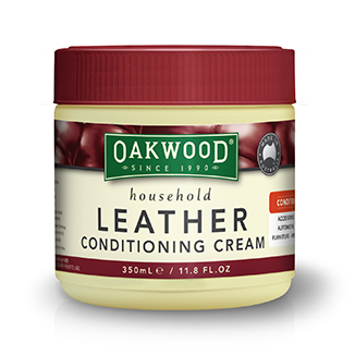 Oakwood Leather Conditioning Cream 350mL Tub - Bulk WholeSale