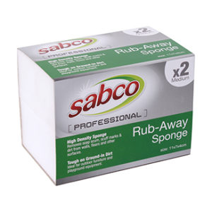 Sabco Professional Rub Away Sponges (3 sizes available) - Bulk WholeSale