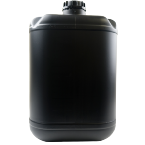 Empty 25 Litre BLACK DG Drums with Lid - Bulk WholeSale