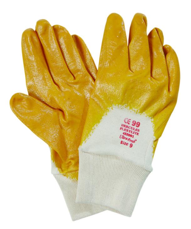 HERCULES Nitrile Lightweight Open Back Knit Wrist x 12 pairs per pack - Bulk WholeSale