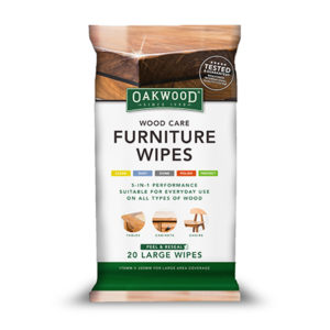 Oakwood Furniture Wipes (20 Large Wipes) 170 x 300mm - Bulk WholeSale